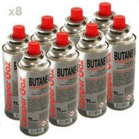 Vito Pro-power - Pack de 8 cartouche gaz Camper Gaz 227gr butane - bouteille 984abfa36ca9