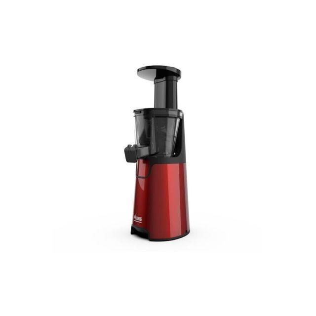 FAURE FJ-4541 Extracteur de jus - 150W - Bac 0,4L - 45 t/min - Nettoyage facile -Rouge