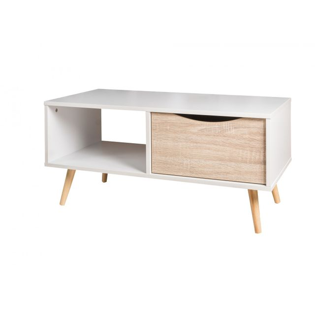 TOPDECO Table basse melo