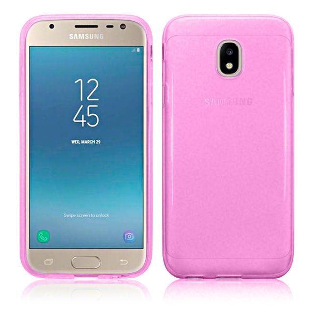 Lapinette - Coque Gel Pour Samsung Galaxy J3 2017 - Rose - pas cher ... 35cb99fbbcca