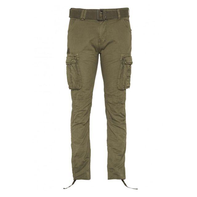 Schott Pantalon Cargo Ranger 70 Olive