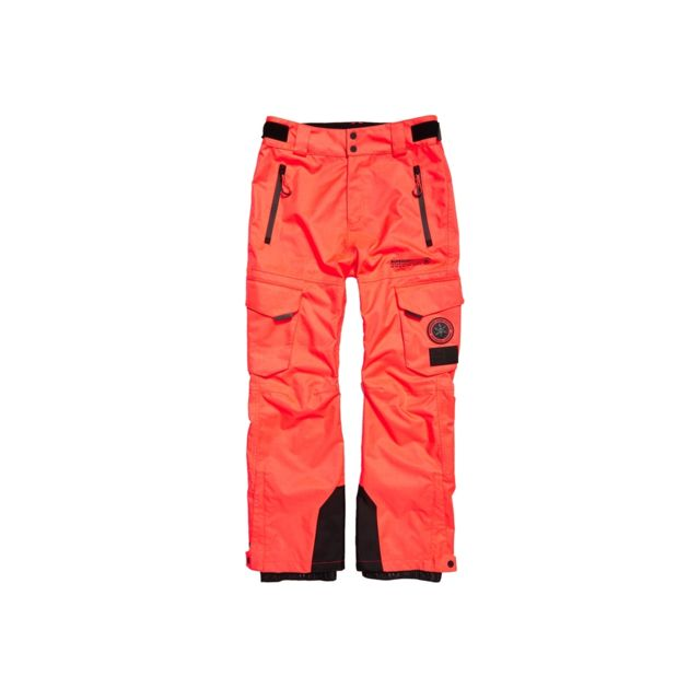 pantalon orange superdry