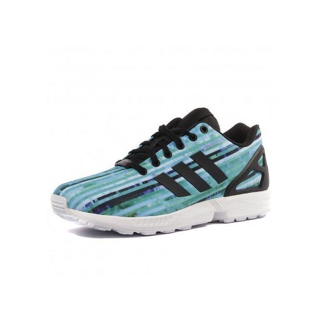 nouvelle collection 0d352 87675 Adidas originals - Zx Flux Homme Garçon Chaussures Bleu ...