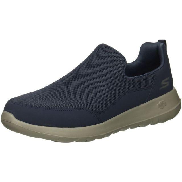 Skechers Chaussures Go Walk Max Homme 42 Fr, Bleu marine