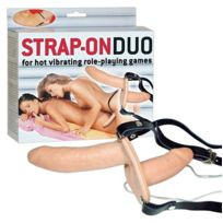 Lrdp - Double gode ceinture vibrant Strap-On Duo