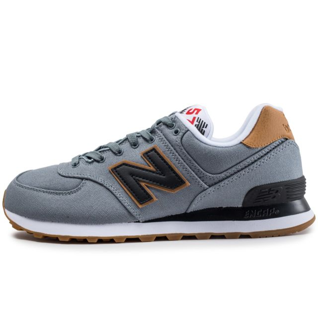 32b30e25238 New Balance - Ml574yld Grise - pas cher Achat   Vente Baskets homme -  RueDuCommerce