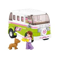 Sluban Europe - Jeu De Construction - Nouvelle Serie Girl'S Dream - Le Camping Car - Sluban M38-B0523