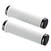 Sram - Poignées Dh Silicone 130mm Vtt blanc