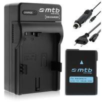 mtb more energy® - Batterie + Chargeur Auto/Secteur, pour Nikon En-el14 / Nikon Df / Coolpix P7800, D3200, D5200, D5300 voir liste