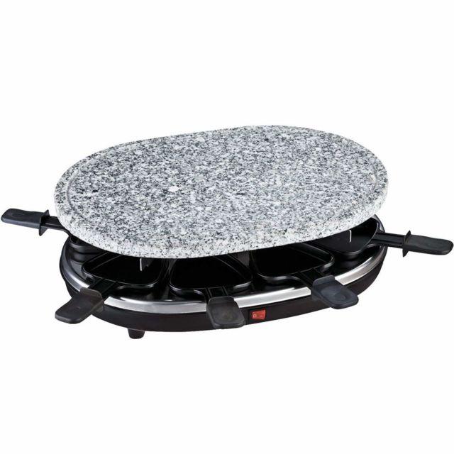 HKOENIG Appareil à raclette + pierre à griller RP85