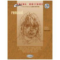 Carisch - Partitions Variété, Pop, Rock. Renaud - Collection Total Guitare + Cd - Guitare Guitare
