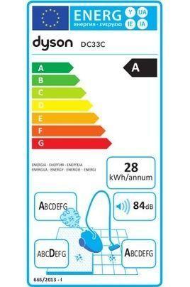 Dyson - Pack Aspirateur Dc33c sans sac + Kit Allergies