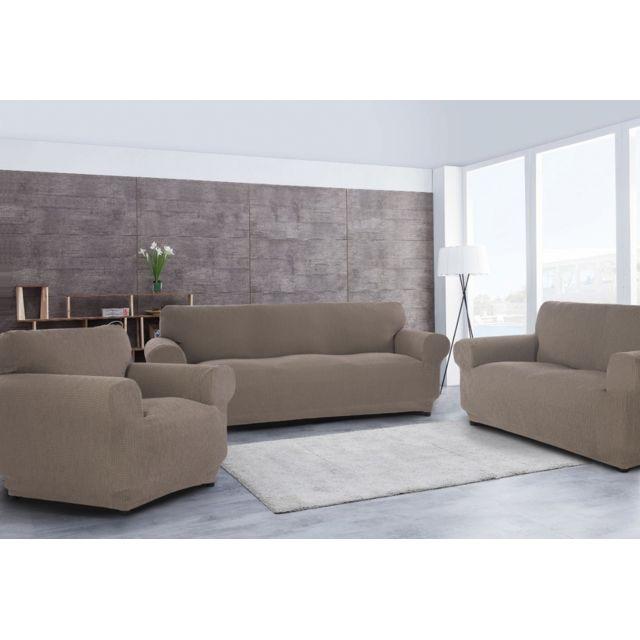 la clef a marques housse de canap 3 places housse de canap 2 places 1 housse fauteuil. Black Bedroom Furniture Sets. Home Design Ideas