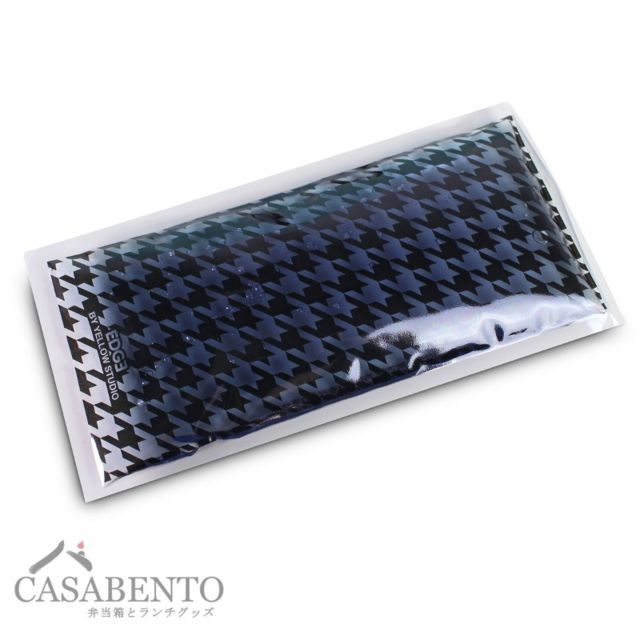 Casabento Grand Ice Pack Réutilisable - Edge Noir