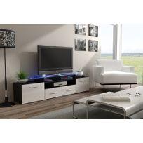 meuble tv wenge - achat meuble tv wenge pas cher - rue du commerce - Meuble Tv Design Wenge