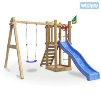 Wickey - Aire de jeux plein aire en bois Sunshine