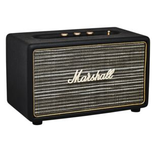 marshall enceinte bluetooth acton marsh actonbt enc black pas cher achat vente enceinte. Black Bedroom Furniture Sets. Home Design Ideas