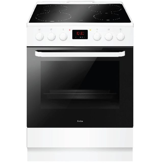 AMICA cuisinière induction a 65l 4 feux blanc - aci3504b