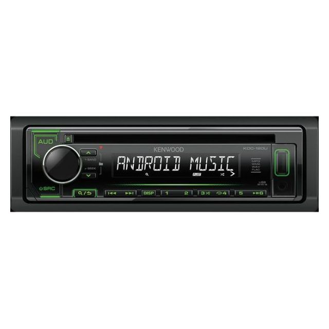 Kenwood Autoradio Mp3 Kdc-120UG