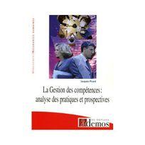 Demos - La Gestion des compétences : Analyse des pratiques et prospectives