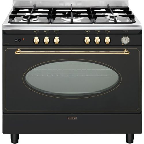 glem cuisini re gaz centre de cuisson 90cm gu960cmr noir achat vente cuisini re convection. Black Bedroom Furniture Sets. Home Design Ideas
