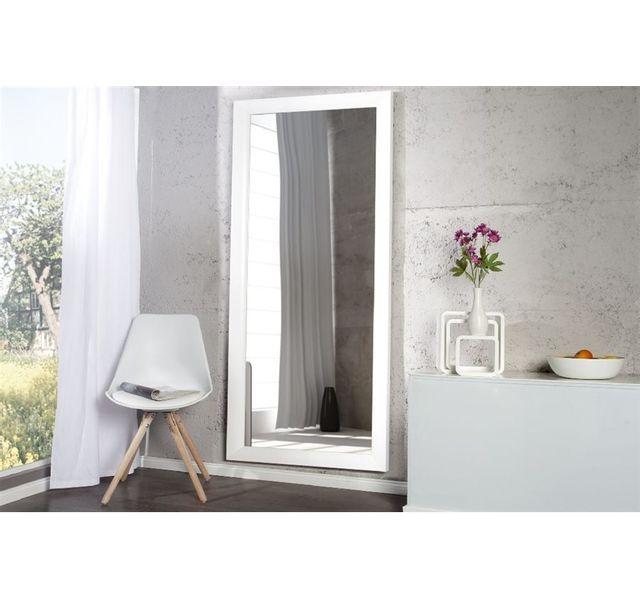 CHLOE DESIGN Miroir design IDETTA - Blanc