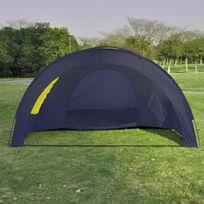Casasmart - Tente 6 personnes 480 x 350 x 195 cm bleu / jaune