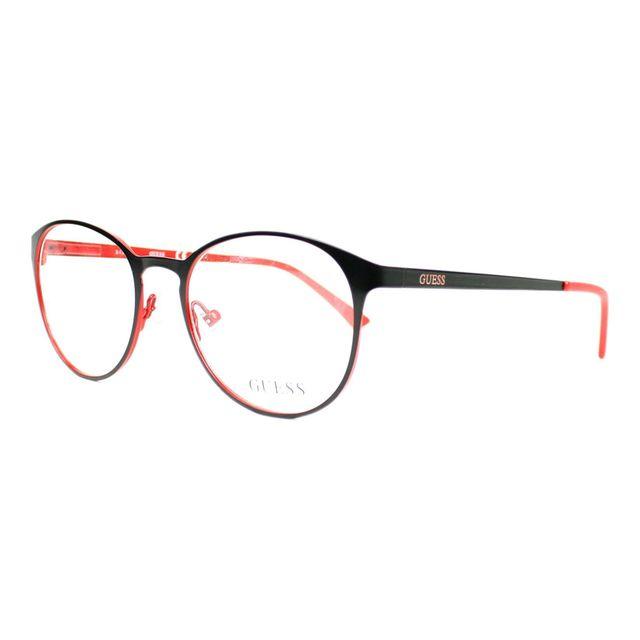 f3fb8ecb9044b2 Guess - Gu3011 S 005 Noir mat - Rouge - Lunettes de soleil - pas cher Achat    Vente Lunettes Tendance - RueDuCommerce
