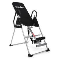 Klarfit - Planche d'inversion : Appareil de musculation , banc en acier solide pour le dos - charge 135kg max Travail musculatoire complet