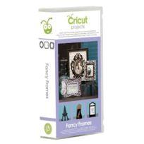 Cricut - 2001095 Cartouche Pour Machine À Scrapbooking Type Project Fancy Frames 22,8 X 12,4 X 3,81 Cm