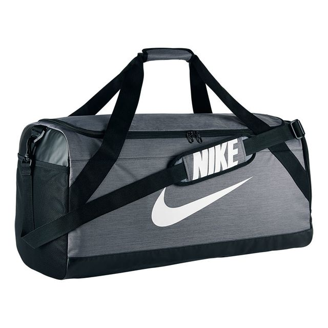 354d4c5f6d Nike - Sac de sport Brasilia Large Duffel gris - pas cher Achat / Vente Sacs  à dos - RueDuCommerce