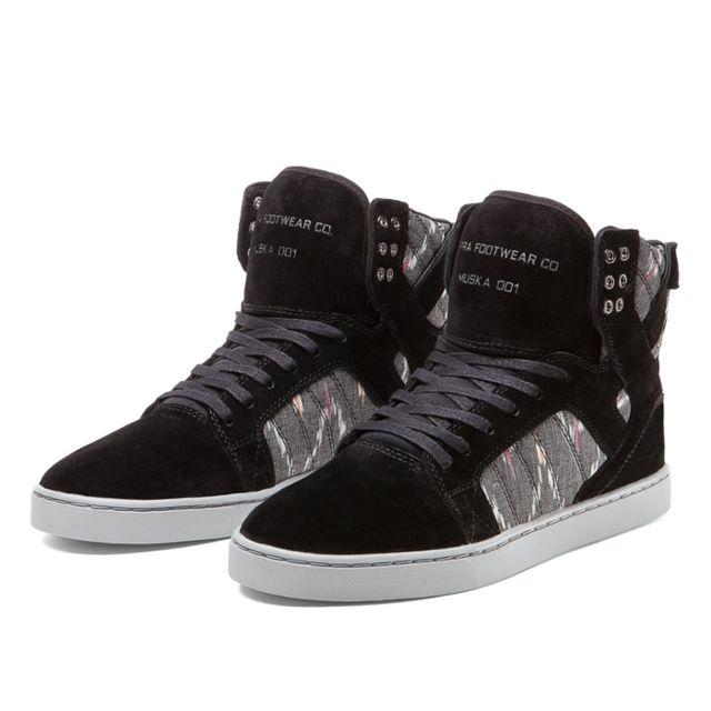 20ed78cbe920 Supra - Sneakers Homme Shoes Skytop Lx Black PRINT-WHITE - pas cher ...