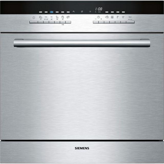SIEMENS lave-vaisselle compact modulaire a+ encastrable inox - sc76m542eu