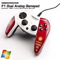 Thrustmaster - Manette F1 Dual Analog F150 Italia - Filaire - 10 boutons - Pc