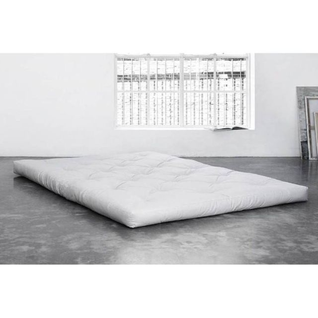 inside 75 matelas futon traditionnel cru 90 200cm nccm x n acm achat vente matelas pas. Black Bedroom Furniture Sets. Home Design Ideas