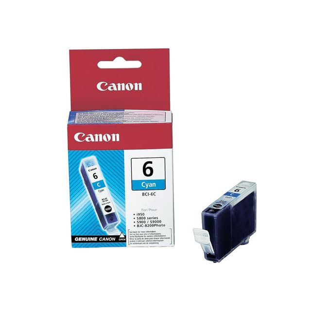 CANON BCI-6 C - Cartouche d'encre Cyan