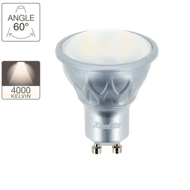 xanlite ampoule led spot culot gu10 classique pas cher achat vente ampoules led. Black Bedroom Furniture Sets. Home Design Ideas