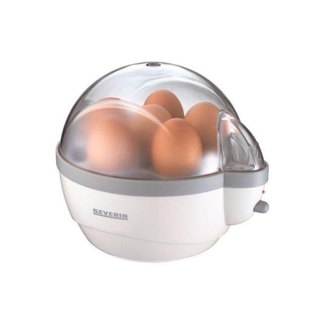SEVERIN cuiseur à oeufs 400w blanc / gris - ek3051