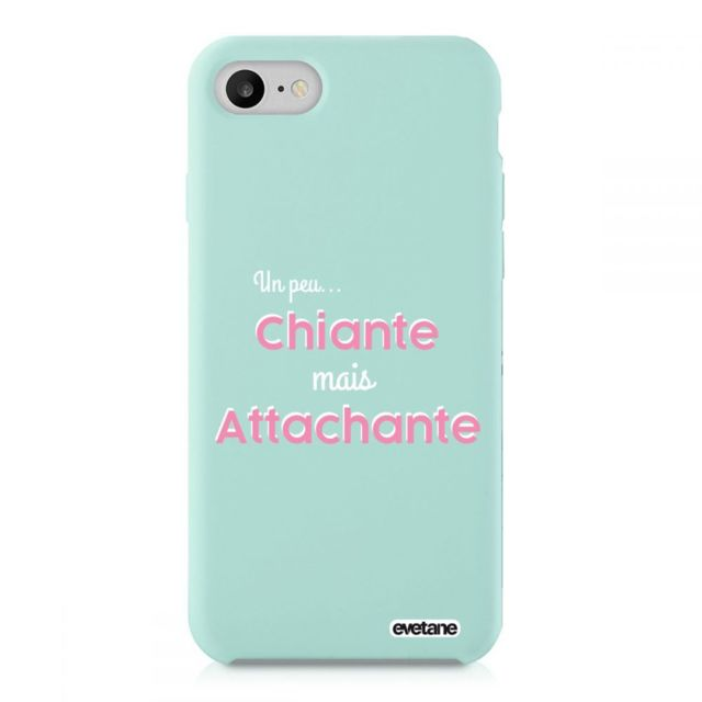 coque iphone 7 silicone ecriture