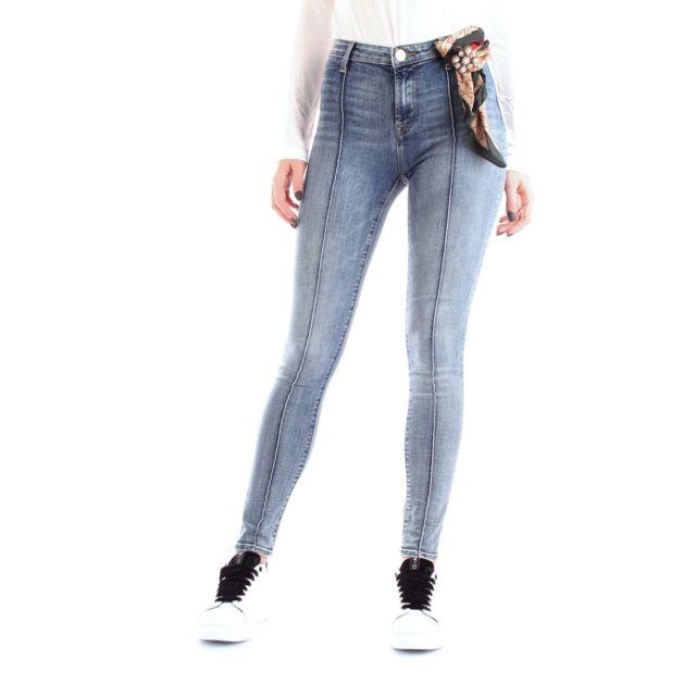Fracomina Femme Fr19FMJDOLLY1DENIM Bleu Coton Jeans