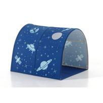 Tunnel De Lit Enfant Astronaute Ii 10cm Bleu