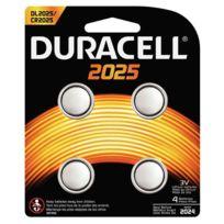 Duracell - piles lithium 3v cr2025 - blister de 4