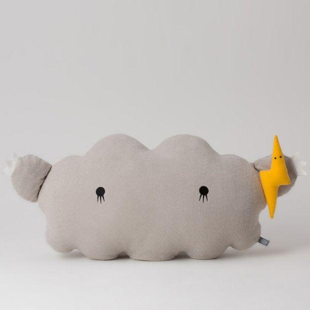 Noodoll Peluche Cloud Grey - 24x45 cm
