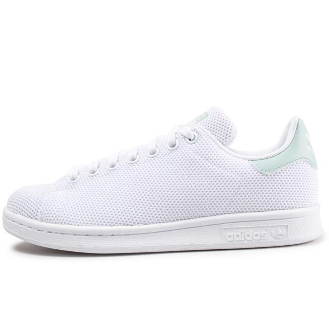 Adidas Stan Smith velcro cuir Femme 36 23 Blanc pas