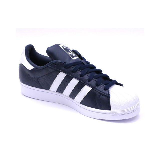 Adidas Chaussures Superstar Marine Homme Multicouleur 36 2