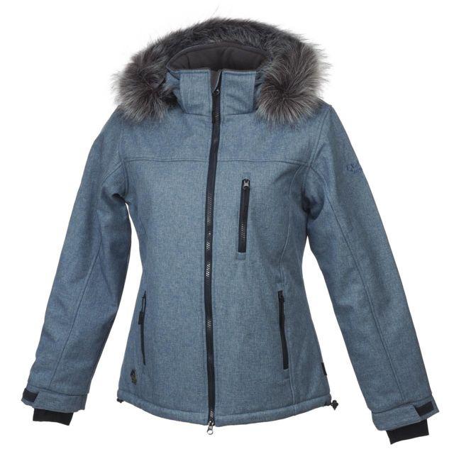 Eldera Sportswear Softshell blouson Vanoise blue ch softshell Bleu 59828