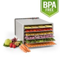 KLARSTEIN - Fruit Jerky Pro 6 Déshydrateur alimentaire 630W 6 étages acier