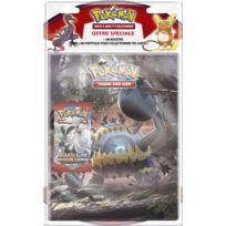 "ASMODEE - POKEMON - Pack cahier range-cartes + booster ""Pokémon SL04 - POB09SL04"