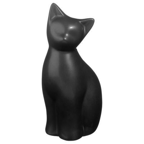 Chat enlac/é Atmosphera Statuette Chat R/ésine