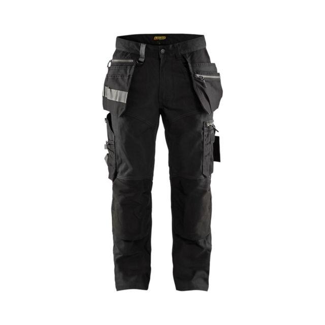 Blaklader Pantalon de travail poches flottantes artisan Stretch